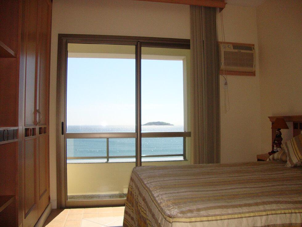 1 Dormitório Frente Mar