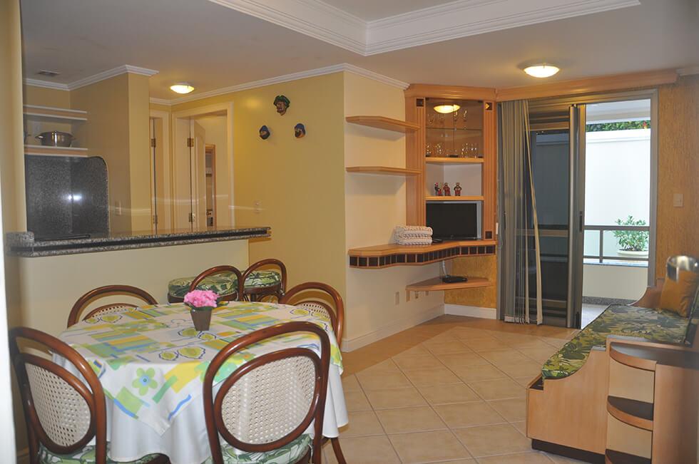 1 Dormitório Lateral Vista Mar