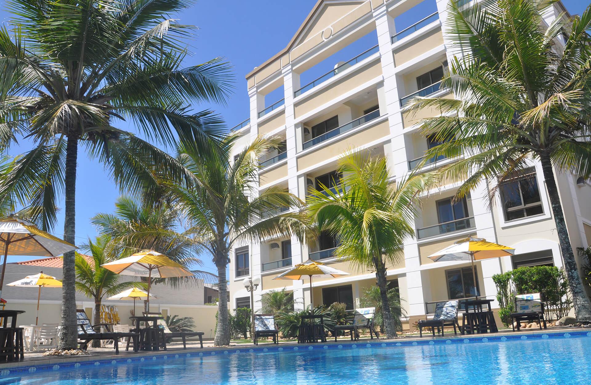 Vista Piscina Marea Apart Hotel